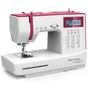 Bernette Nähmaschine Sew&Go 8 197 Stich- und Nähprogramme