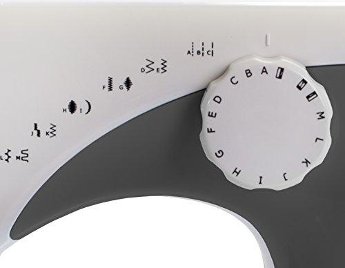 AEG Freiarmnähmaschine NM-105 Weiß, Grau - 2